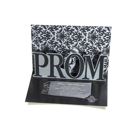 PROM Pop-up Invitation