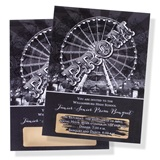 Vintage Ferris Wheel Scratch-Off Invitation