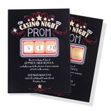 Casino Night Scratch-Off Invitation