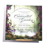 Garden of Dreams Invitation