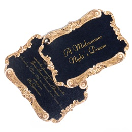 Frame-shaped Invitation