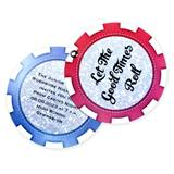 Casino Chip Twisting Invitation
