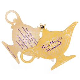 Three Wishes Lamp Twisting Invitation