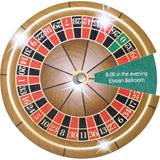 Spin and Reveal Invitation - Casino