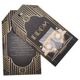 Gatsby Roadster Twisting Invitation