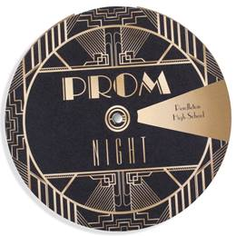 Spin and Reveal Invitation - 1920's Deco