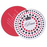 Prom Royale Twist and Reveal Invitation