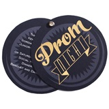 Prom Night Banner Twist Invitation