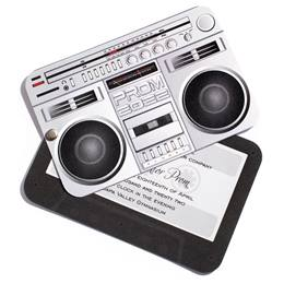 Boom Box Twist Invitation