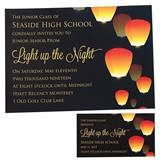 Invitation/Ticket Set - Glowing Lantern