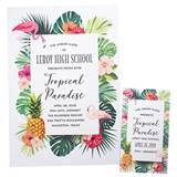 Invitation/Ticket Set - Tropical