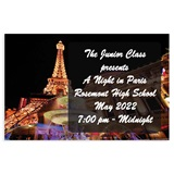 Full-color Ticket - Paris at Night