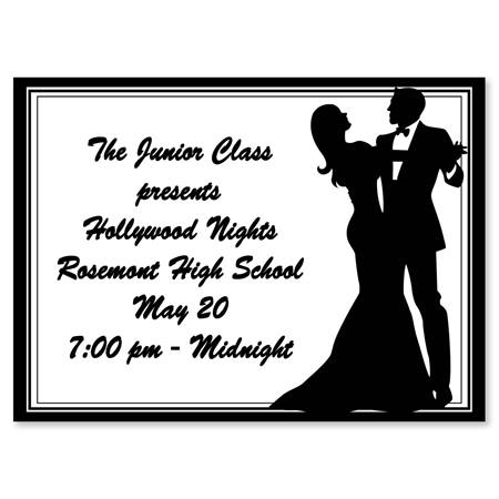 Full-color Ticket - Ballroom Couple