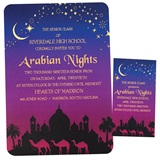 Invitation/Ticket Set - Arabian Night