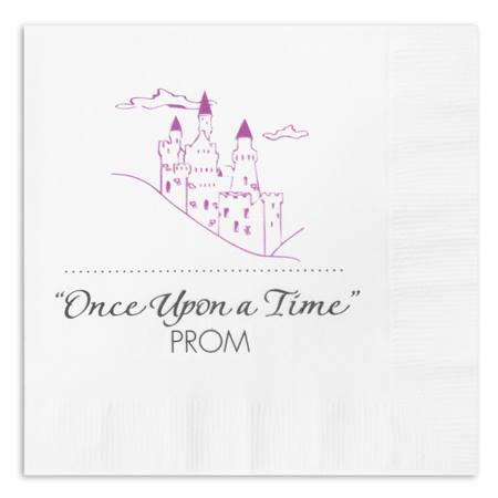Castle On A Cloud Luncheon Napkin