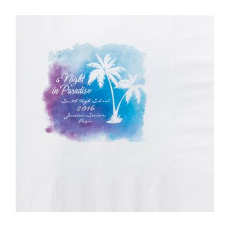 Hawaiian Paradise Luncheon Napkin