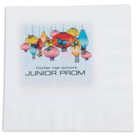Garden Party Luncheon Napkin