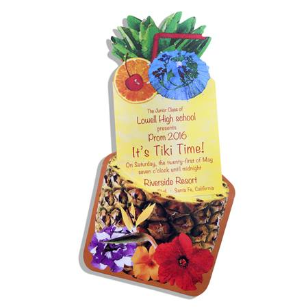 Tropical Punch Invitation