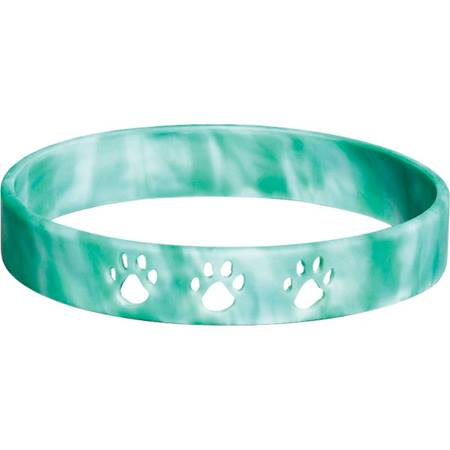 Paw Cut-out Wristband – Green