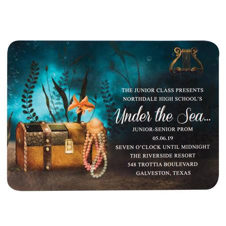 Sunken Treasure Invitation