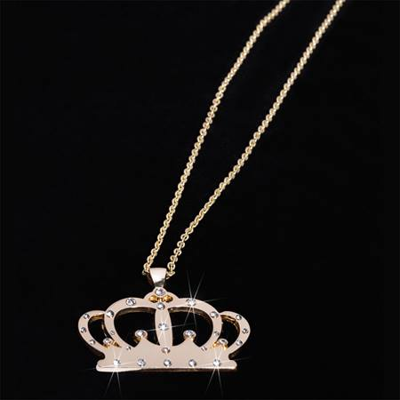 Bling Crown Necklace