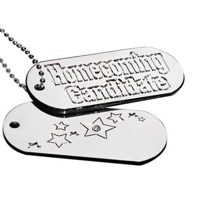 Homecoming Candidate Dog Tag