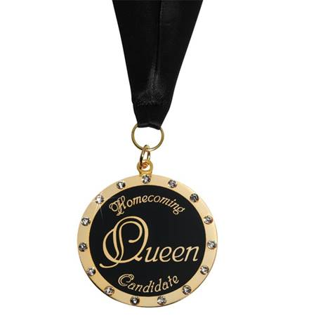 Homecoming Queen Candidate Medallion