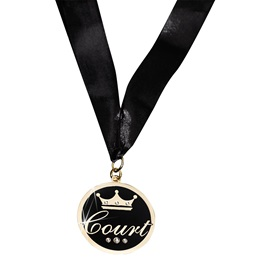 Court Bling Medallion with Neck Strap and Case