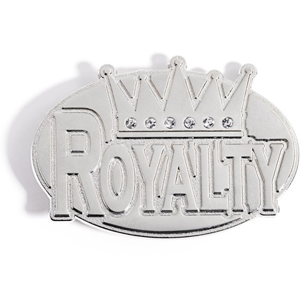 Silver Belt Buckle - Royalty