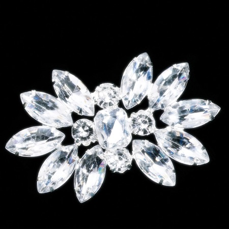 Diamond Starburst Sash Pin
