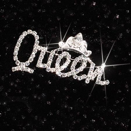Rhinestone Queen Pin