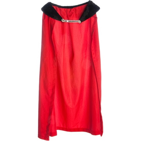 49 in. Red Robe with Color Trim