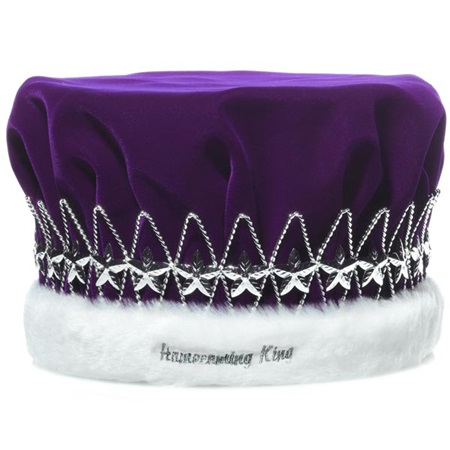 Homecoming King Crown with Silver Stars