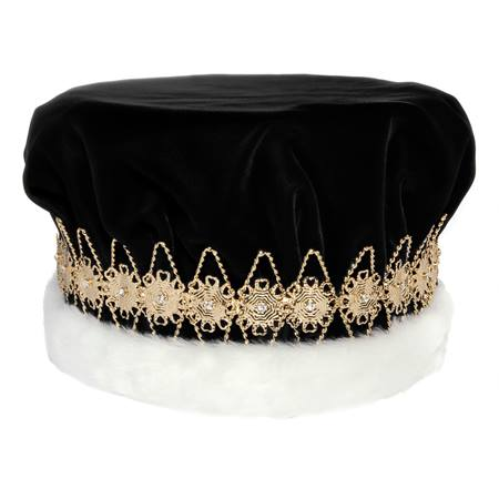 Black/Gold Regal Crown