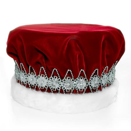 Red/Silver Regal Crown