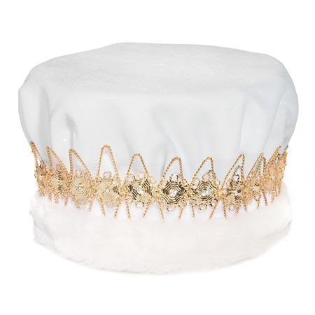 White/Gold Regal Crown