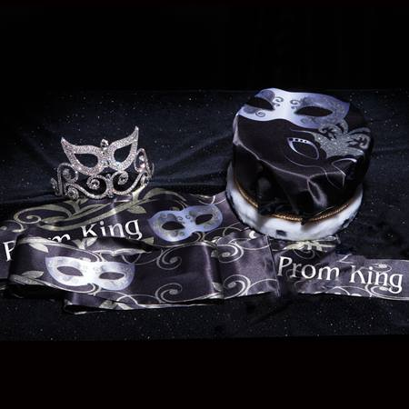 Gold and Silver Mask Coronation Set