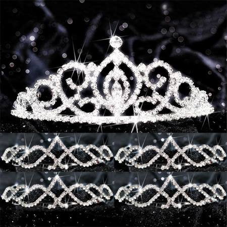 Five-piece Tiara Set - Cameo Perfect Queen and Kyla Court