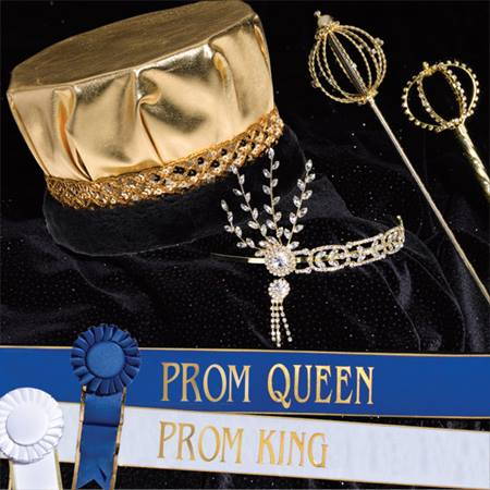 Prom Gold Grand Majestic Set with Scepters