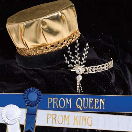 Prom Gold Grand Majestic Set without Scepters