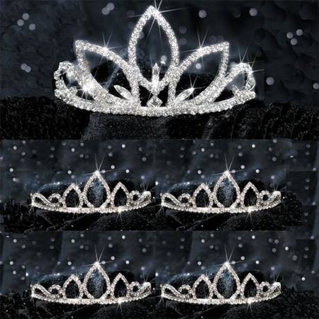 Natalia Queen Tiara & Court Set