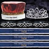 Custom Royalty Court Set - Adele Tiara/Metallic Crown