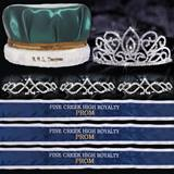 Custom Royalty Court Set - Adele Tiara/Satin Crown