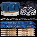 King and Queen Prom Coronation Set with Pins - Mirabella/Sissy