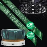 Satin Prom King & Queen Set - Nakoma Tiara