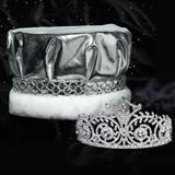 Elsa Tiara and Metallic Crown Set