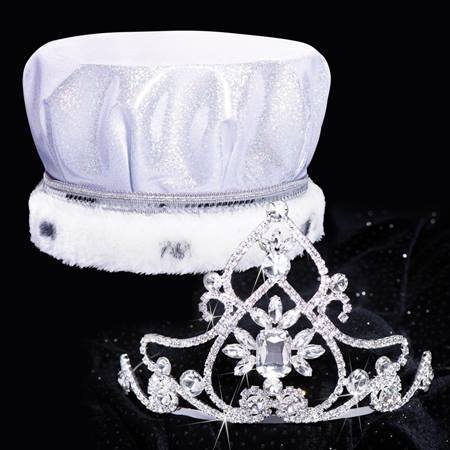 True Royalty Tiara/Crown Set - Kate and William