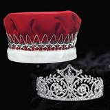 Elsa Tiara and Crown Set - Red Velvet