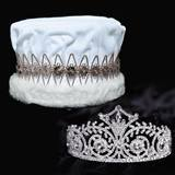 Elsa Tiara and Crown Set - Velvet Crown