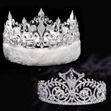 Elsa Tiara and Crown Set - Fleur-de-Lis